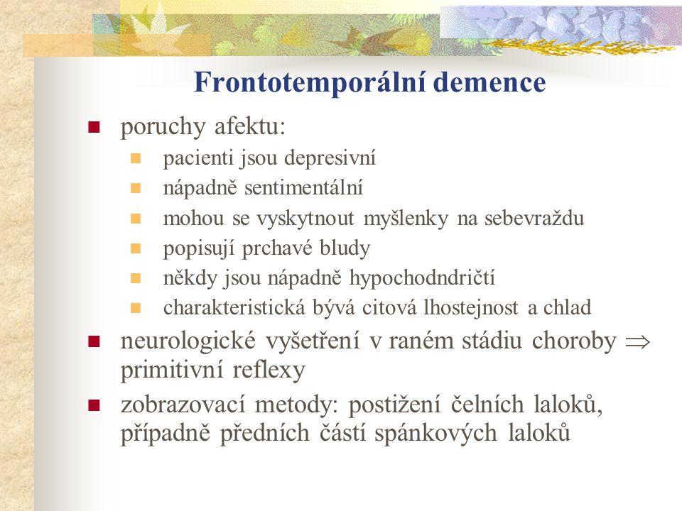 Frontotemporální demence