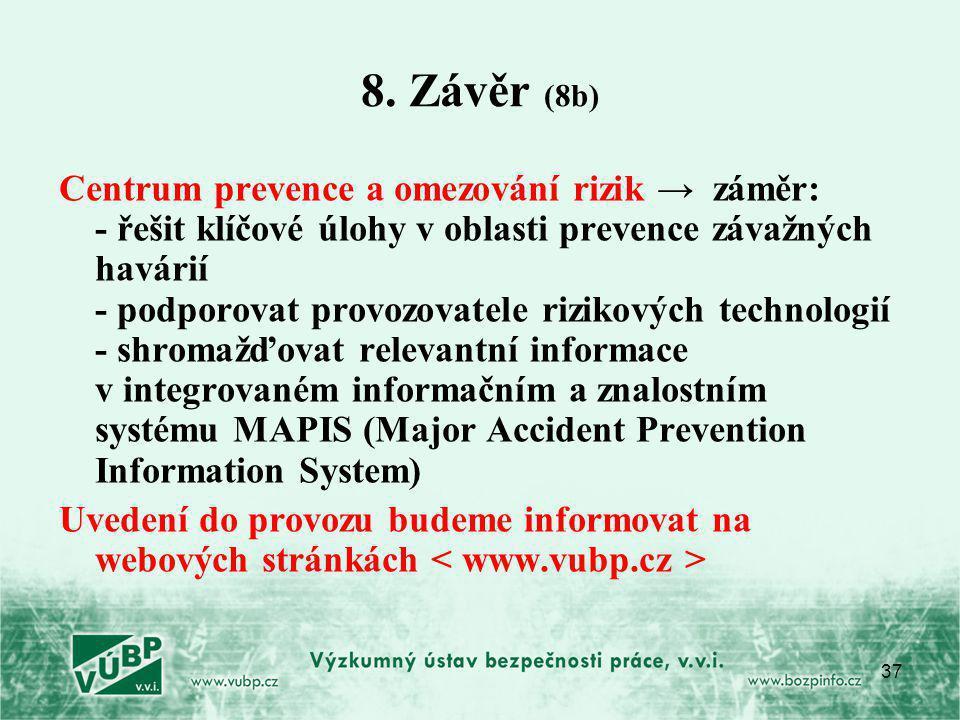 8. Závěr (8b)