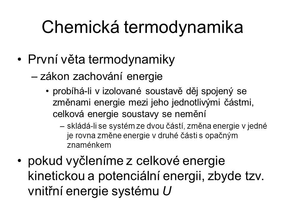 Chemická termodynamika