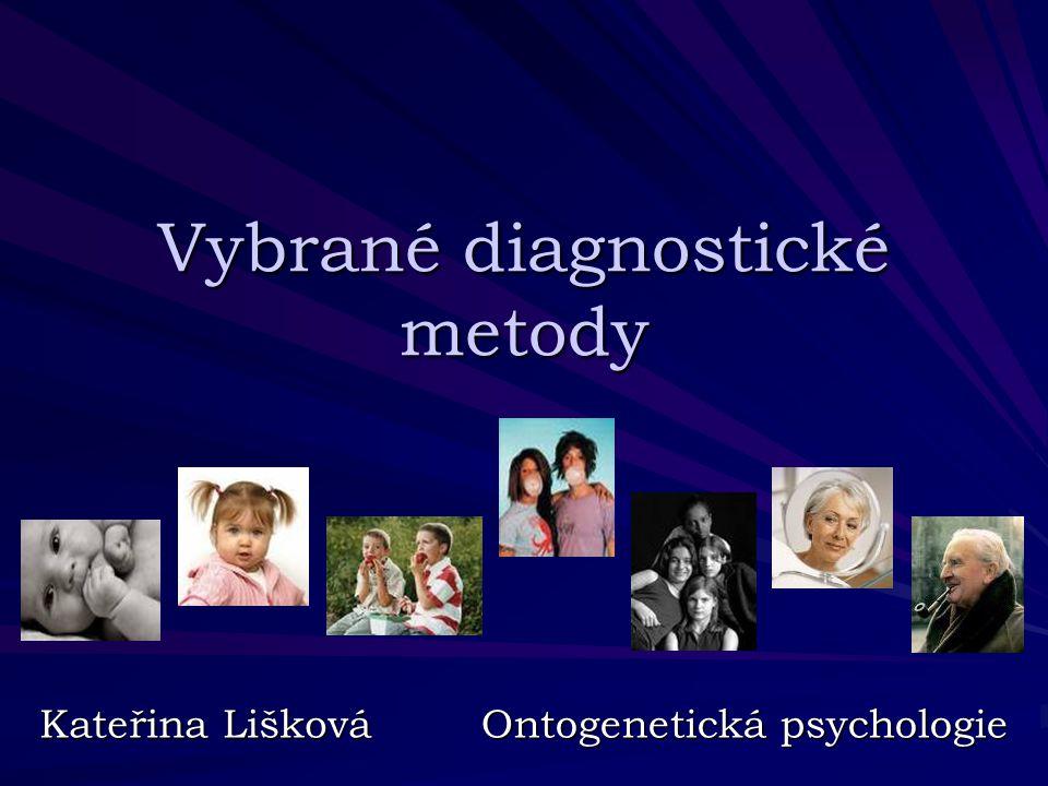 Vybrané diagnostické metody