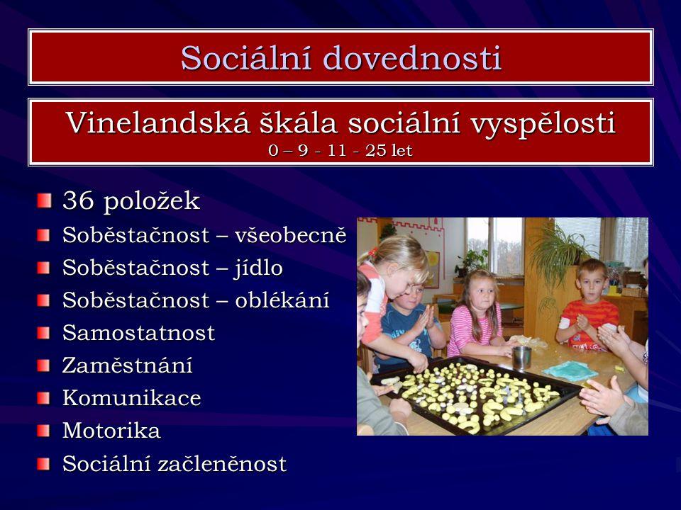 Vinelandská škála sociální vyspělosti