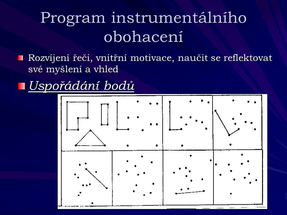 Program instrumentálního obohacení