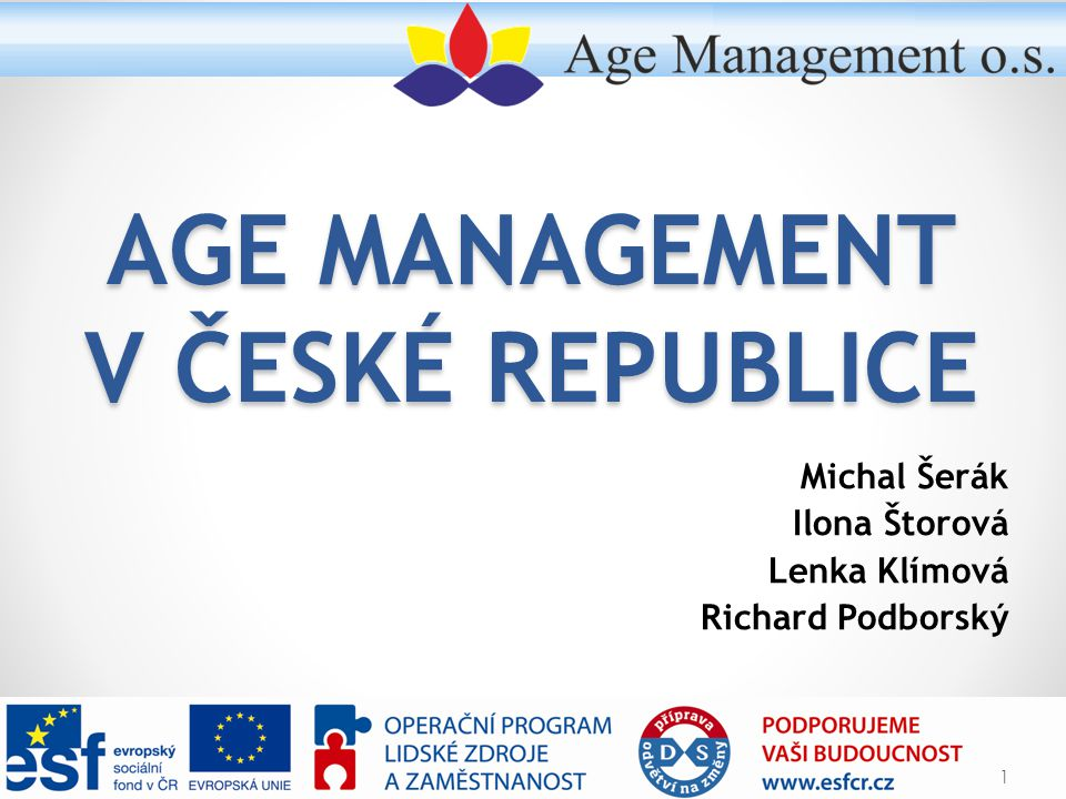 Age Management v České republice