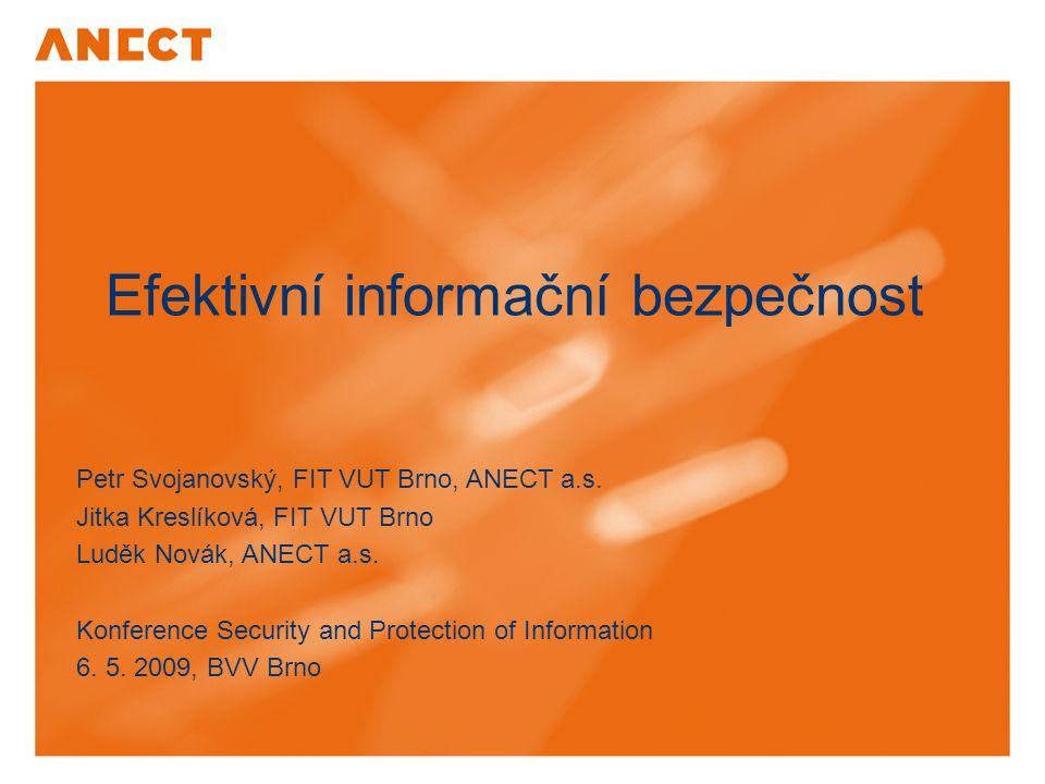 Efektivní informační bezpečnost