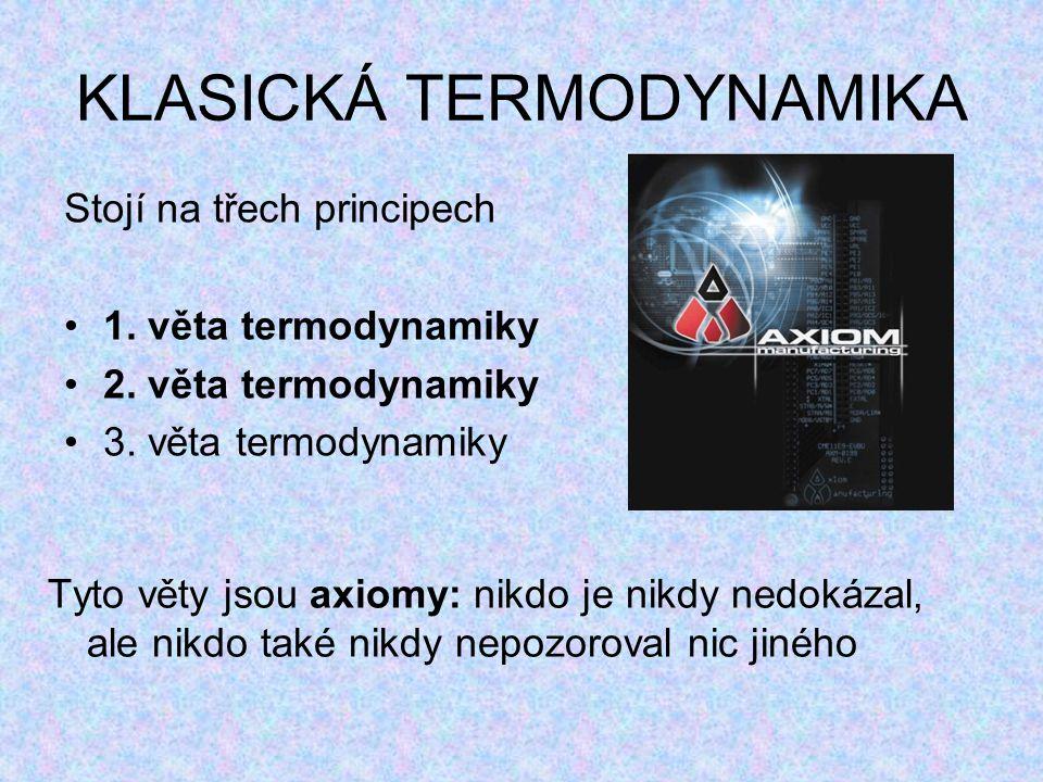KLASICKÁ TERMODYNAMIKA