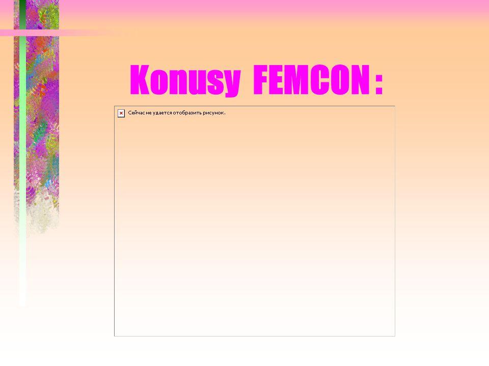 Konusy FEMCON :