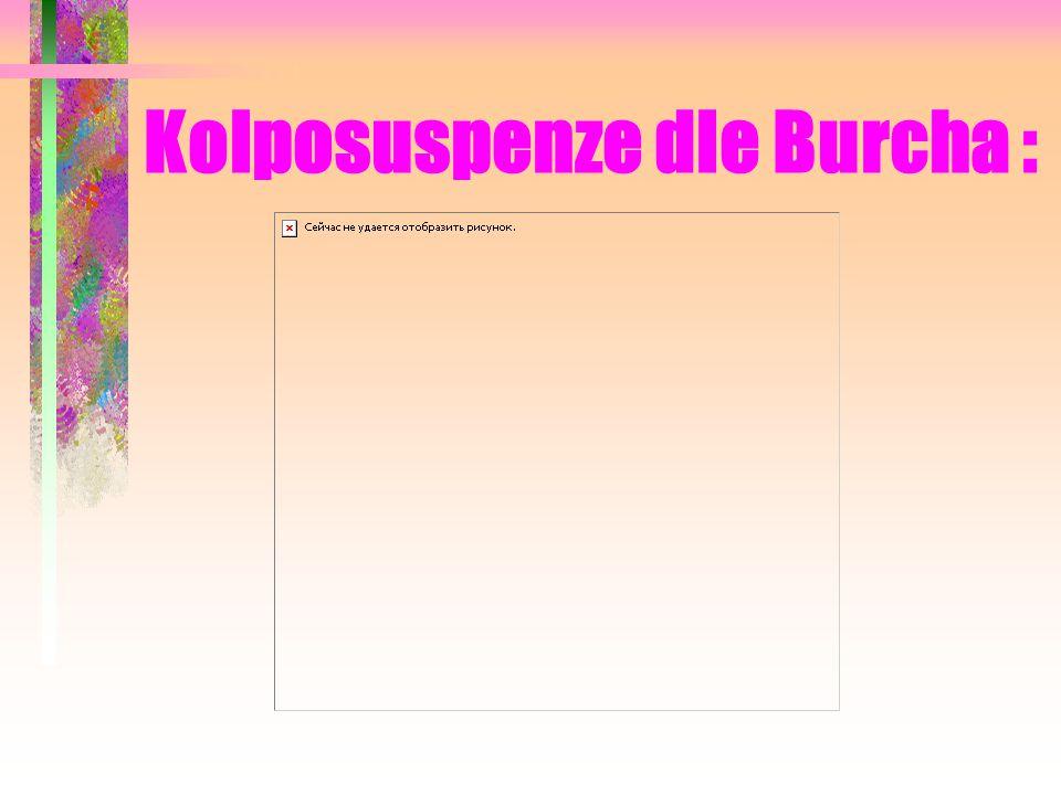 Kolposuspenze dle Burcha :