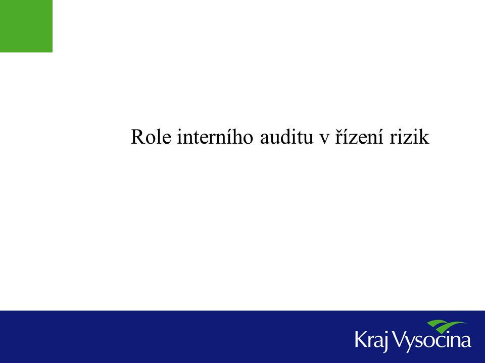 Role interního auditu v řízení rizik