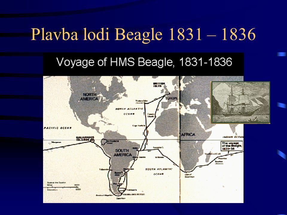 Plavba lodi Beagle 1831 – 1836