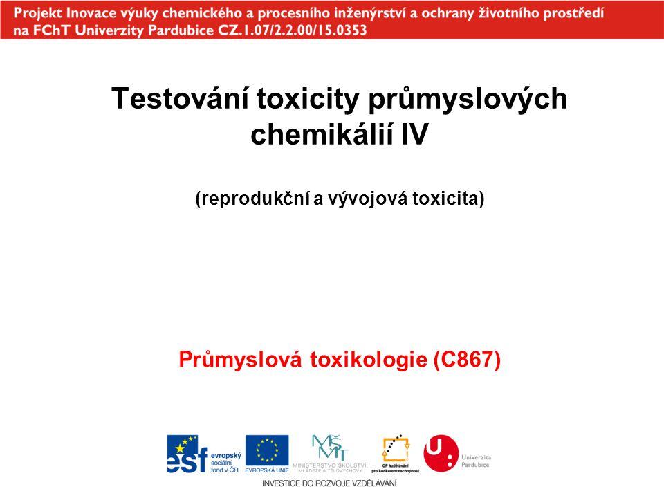 Průmyslová toxikologie (C867)