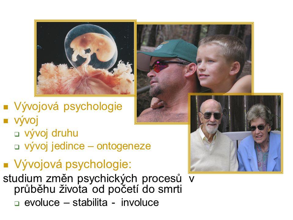 Vývojová psychologie: