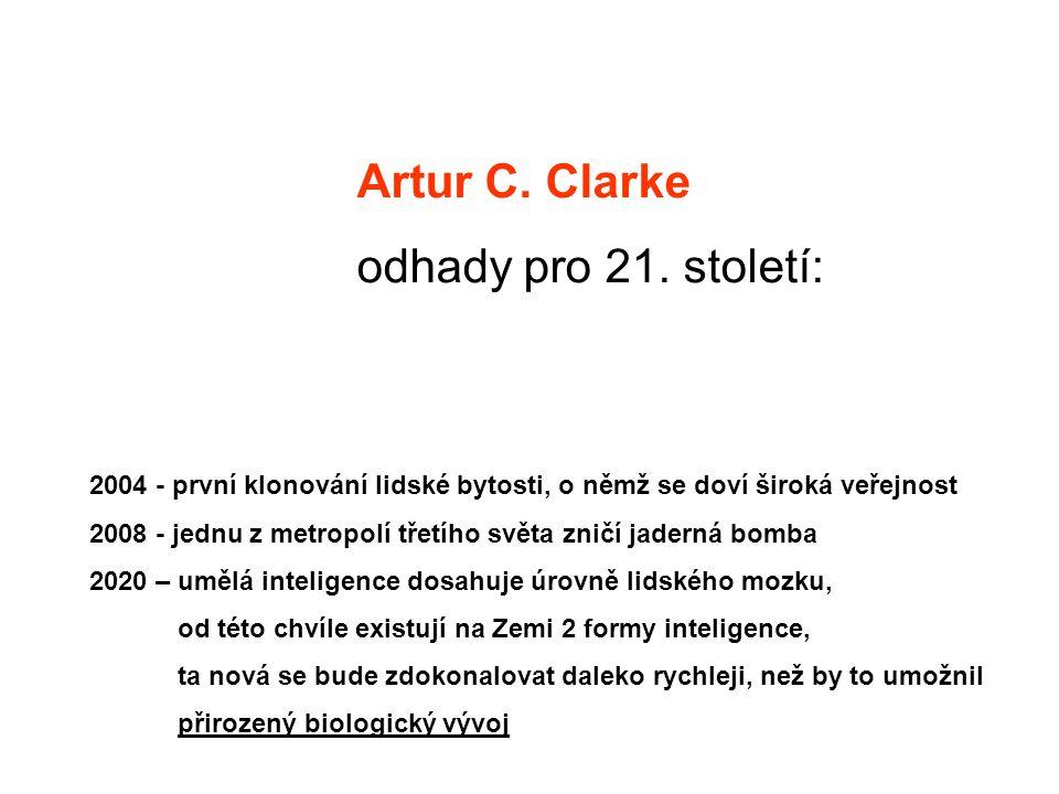 Artur C. Clarke odhady pro 21. století: