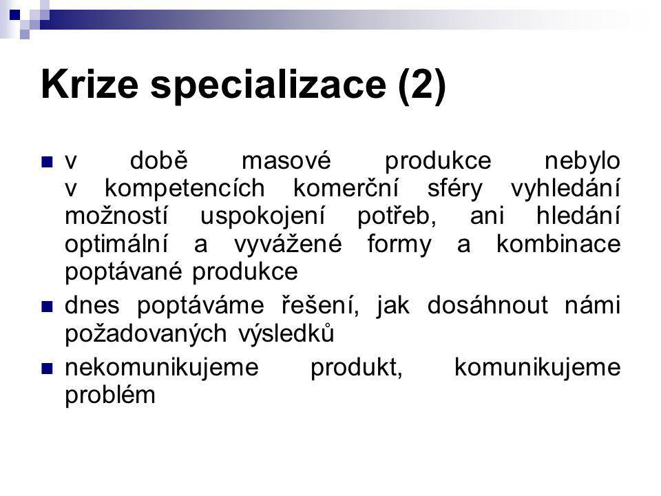 Krize specializace (2)