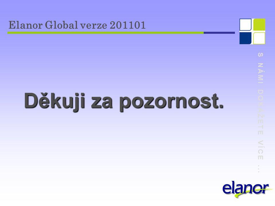 Děkuji za pozornost. Elanor Global verze 201101