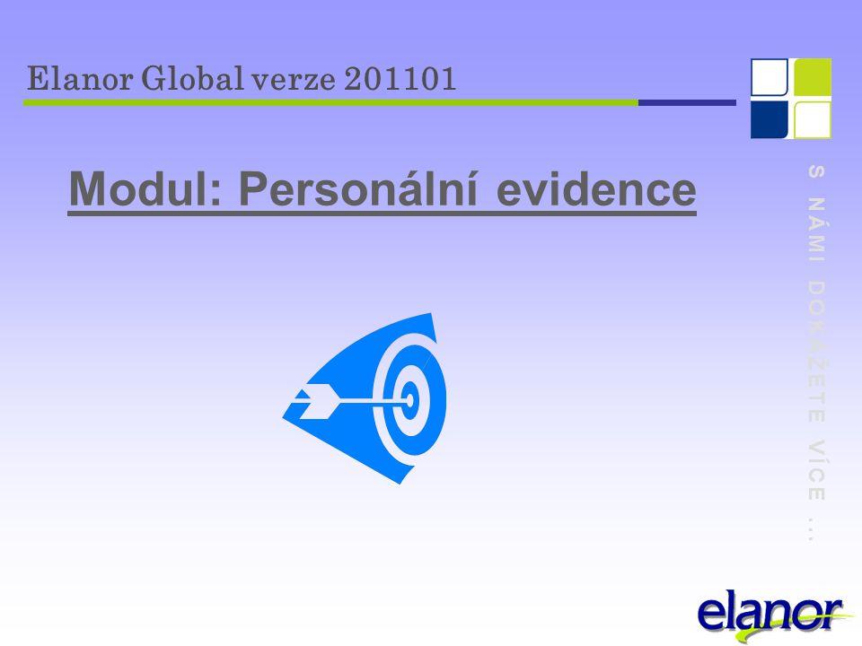 Modul: Personální evidence