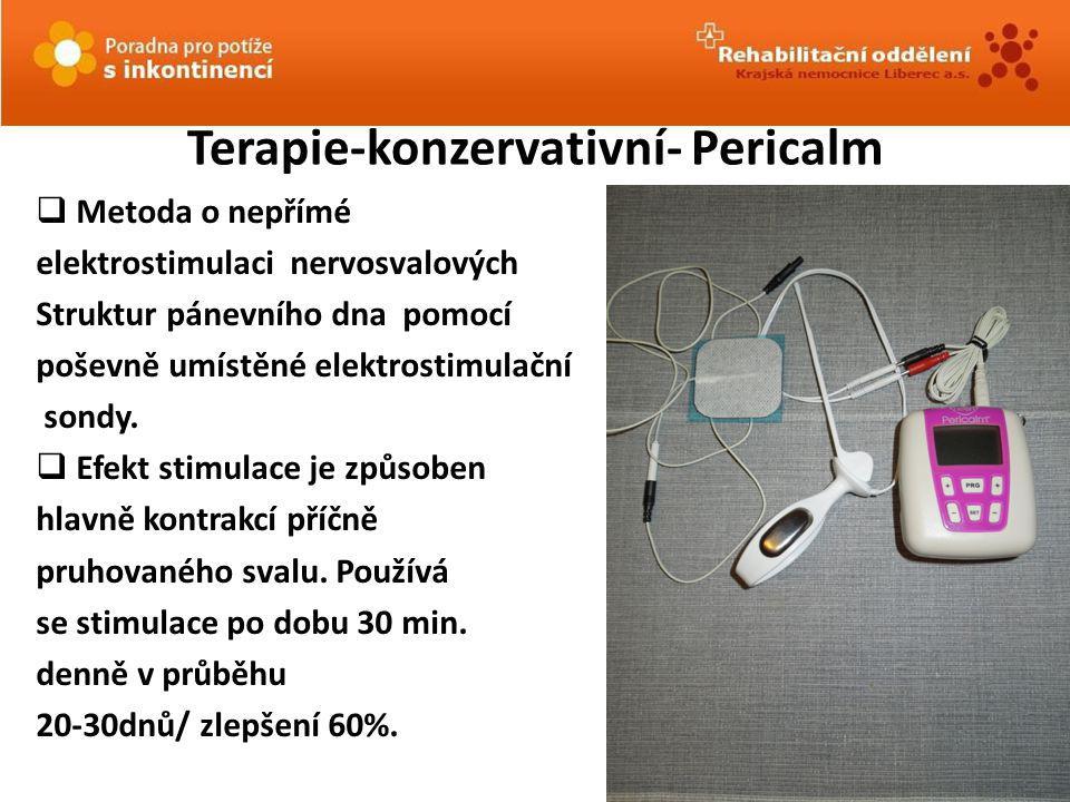 Terapie-konzervativní- Pericalm