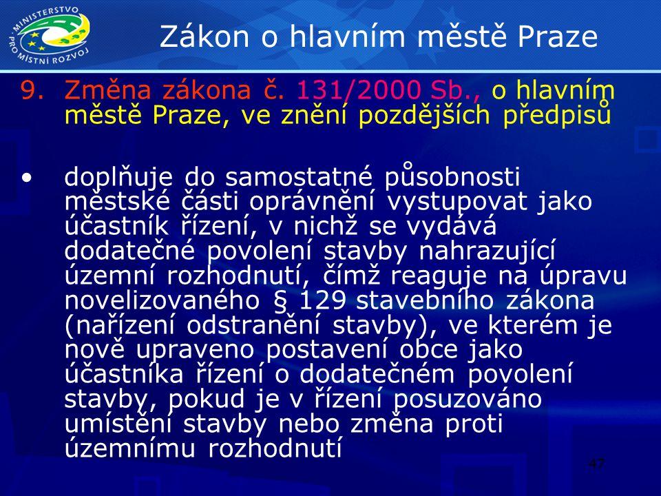 Zákon o hlavním městě Praze