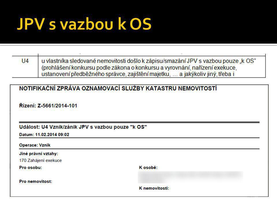 JPV s vazbou k OS
