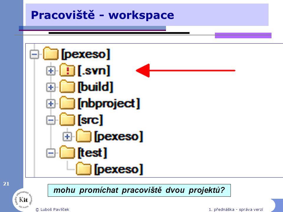 Pracoviště - workspace
