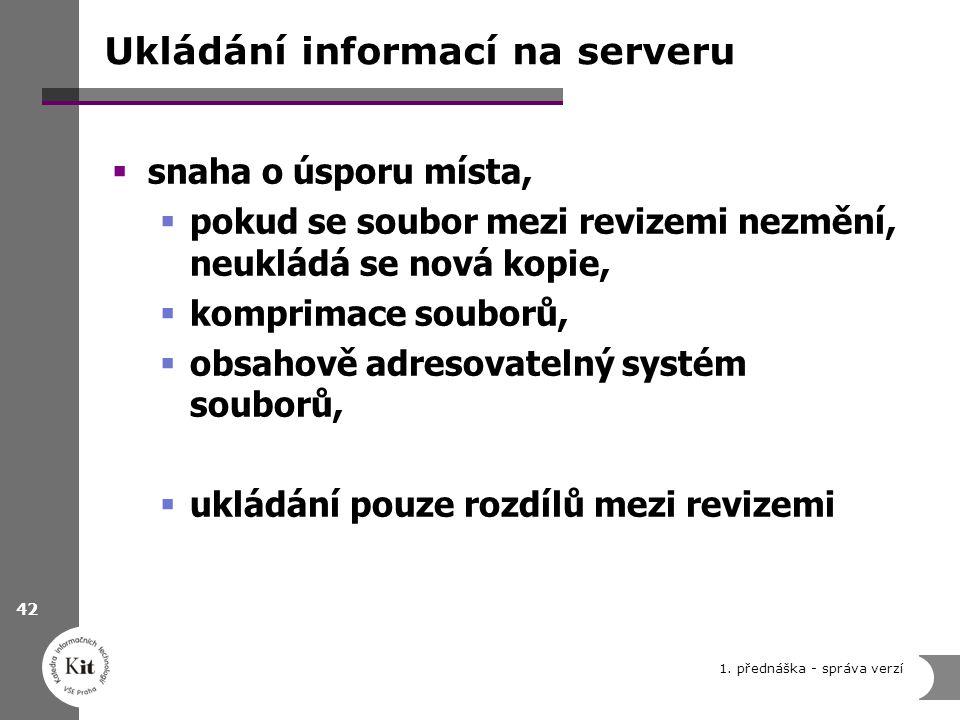 Ukládání informací na serveru