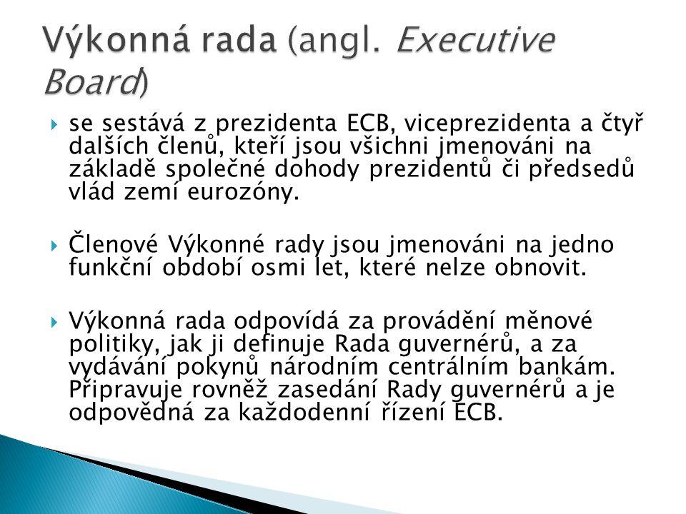 Výkonná rada (angl. Executive Board)