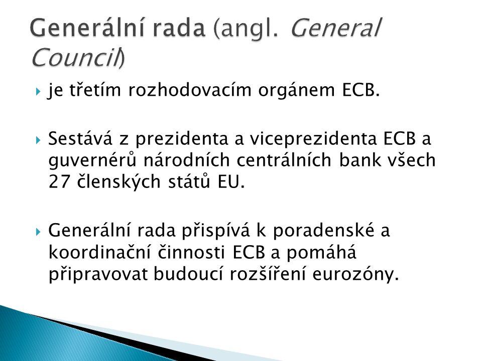 Generální rada (angl. General Council)