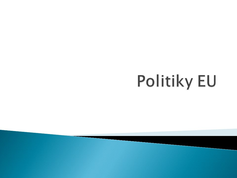 Politiky EU