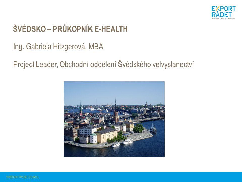Švédsko – průkopník e-health