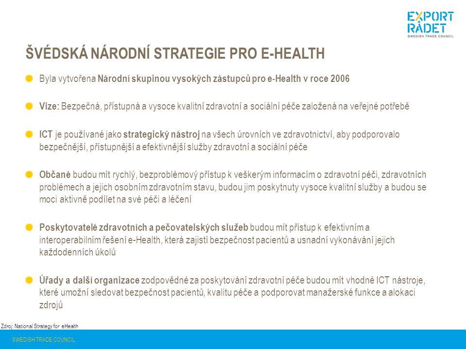 Švédská národní strategie pro e-health