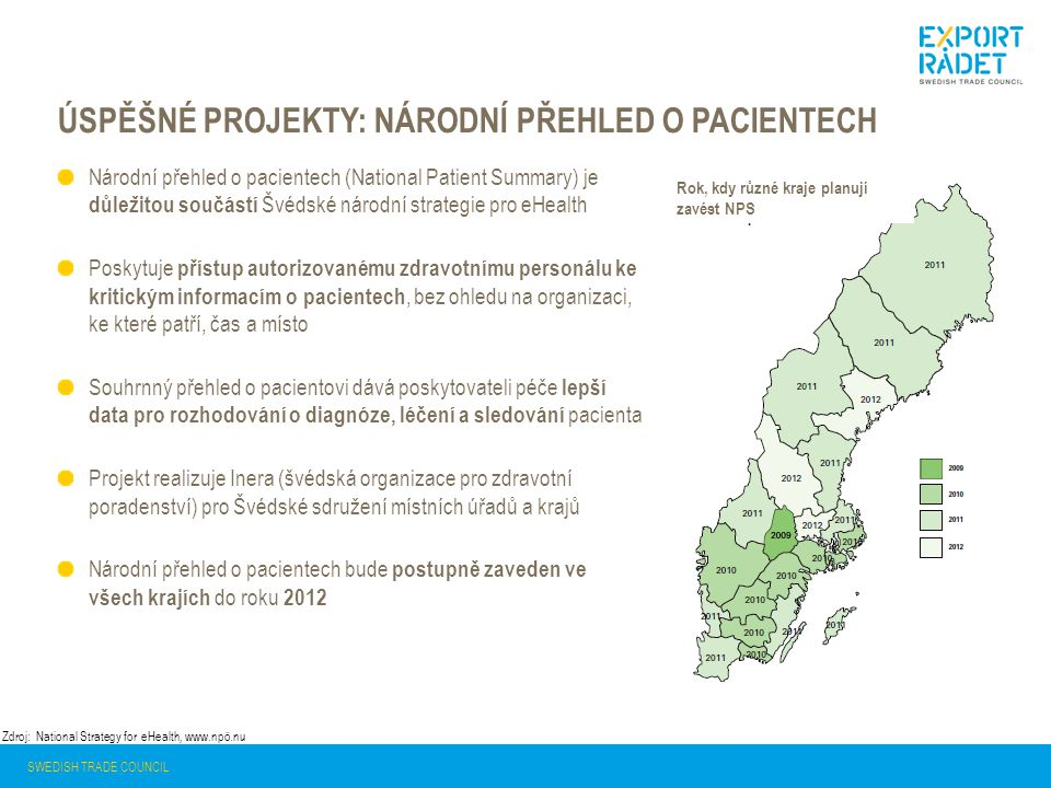Úspěšné projekty: Národní přehled o pacientech