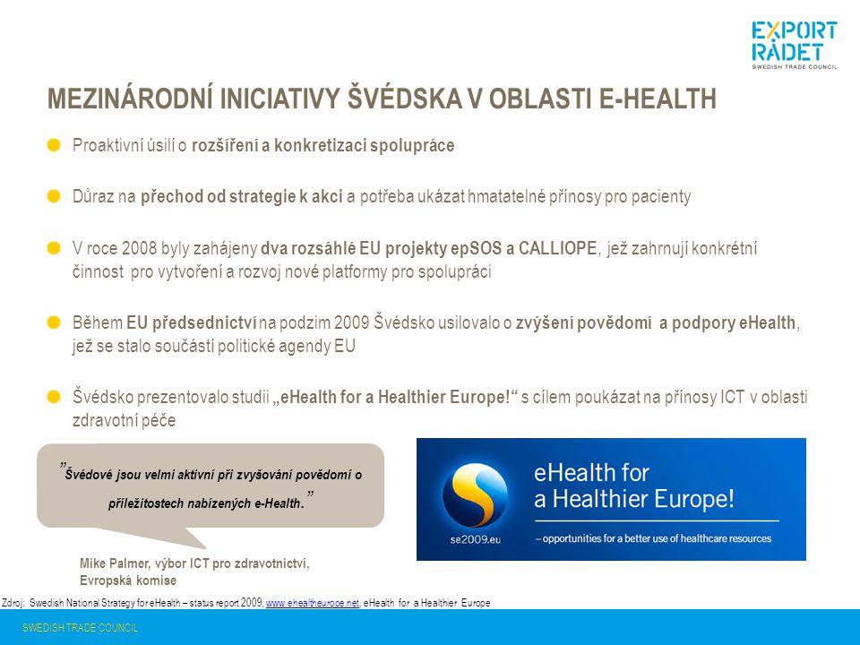 Mezinárodní iniciativy švédska v oblasti e-health