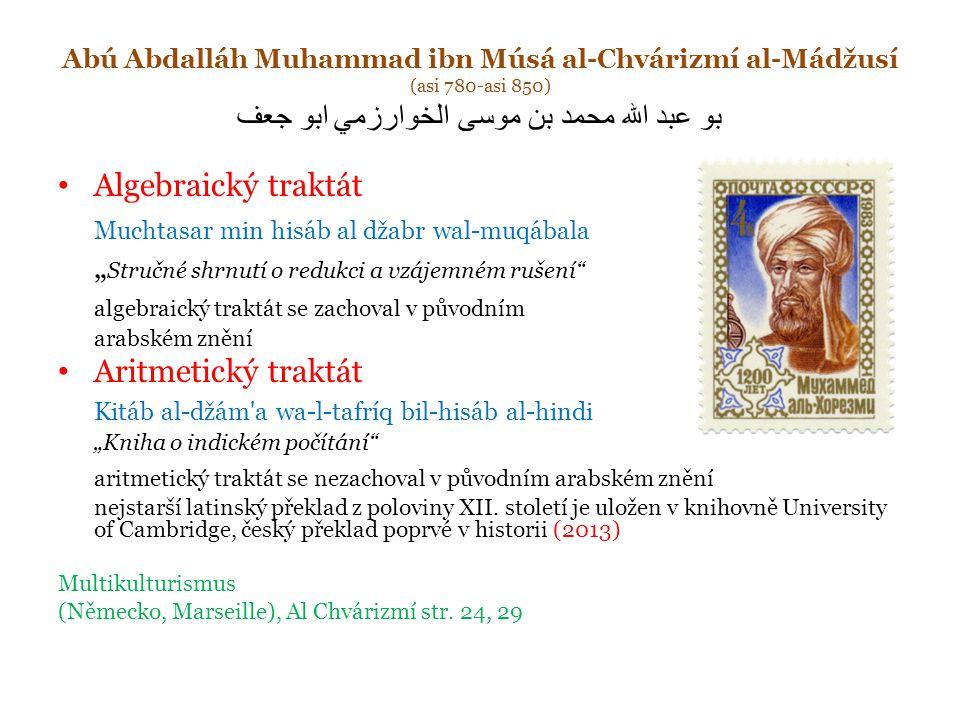 Muchtasar min hisáb al džabr wal-muqábala
