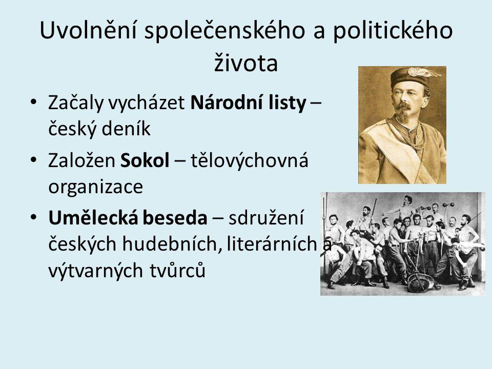 Uvolnění společenského a politického života