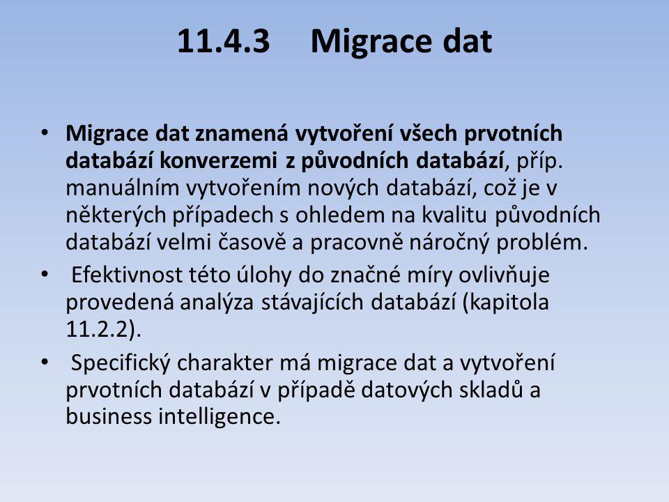 11.4.3 Migrace dat