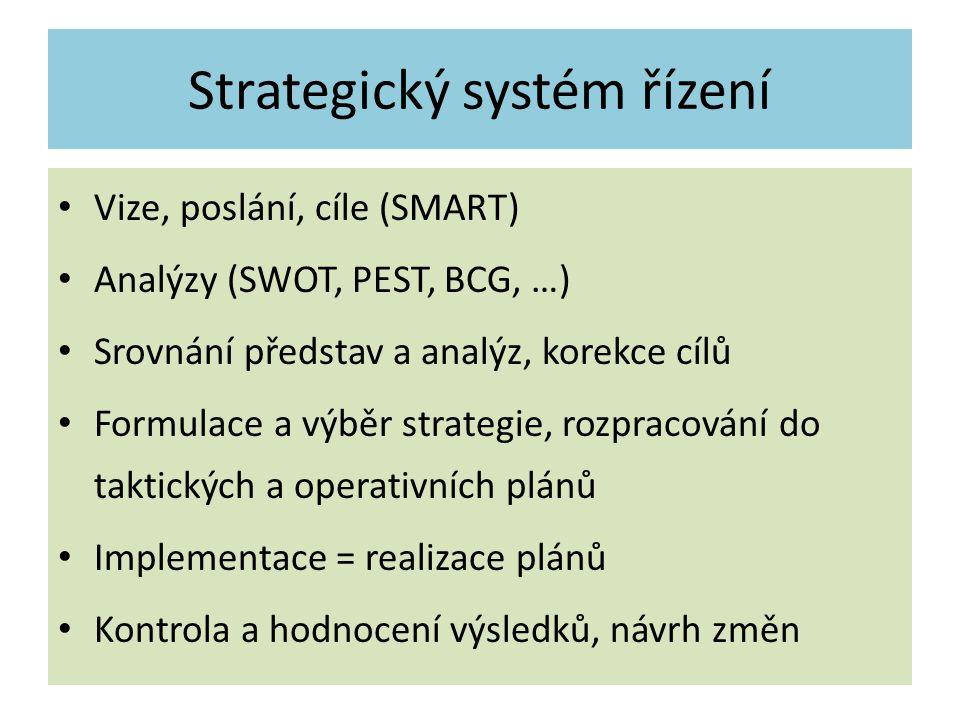 Strategický systém řízení