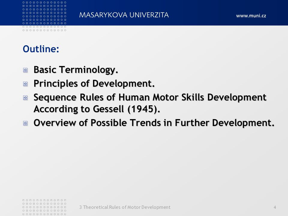 Principles of Development.