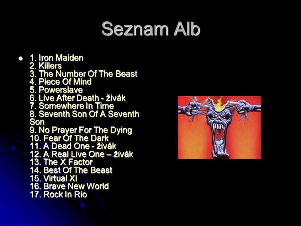 Seznam Alb