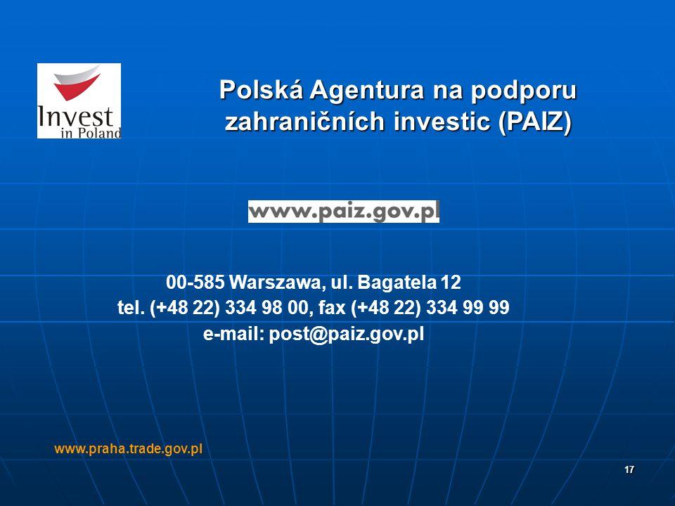 Polská Agentura na podporu zahraničních investic (PAIZ)