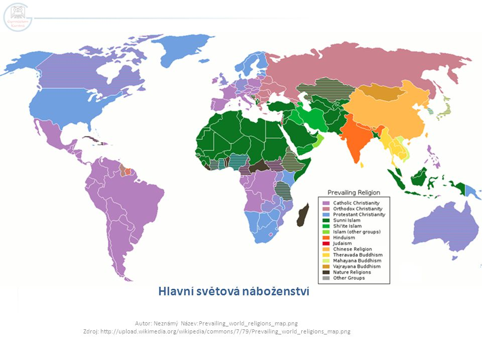 Hlavní světová náboženství