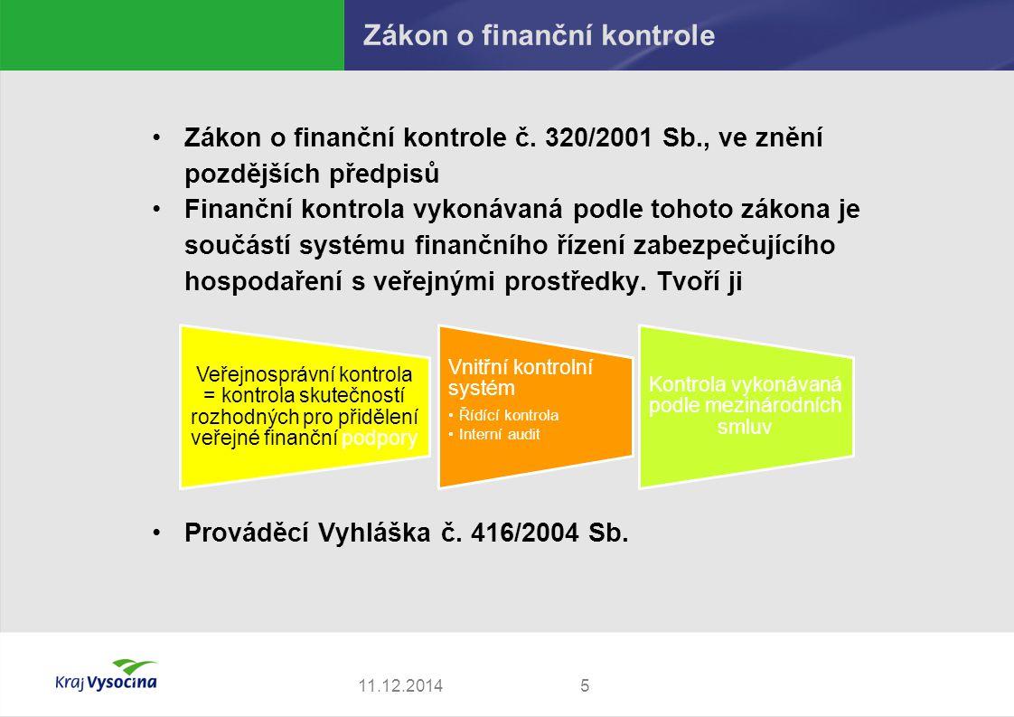 Zákon o finanční kontrole
