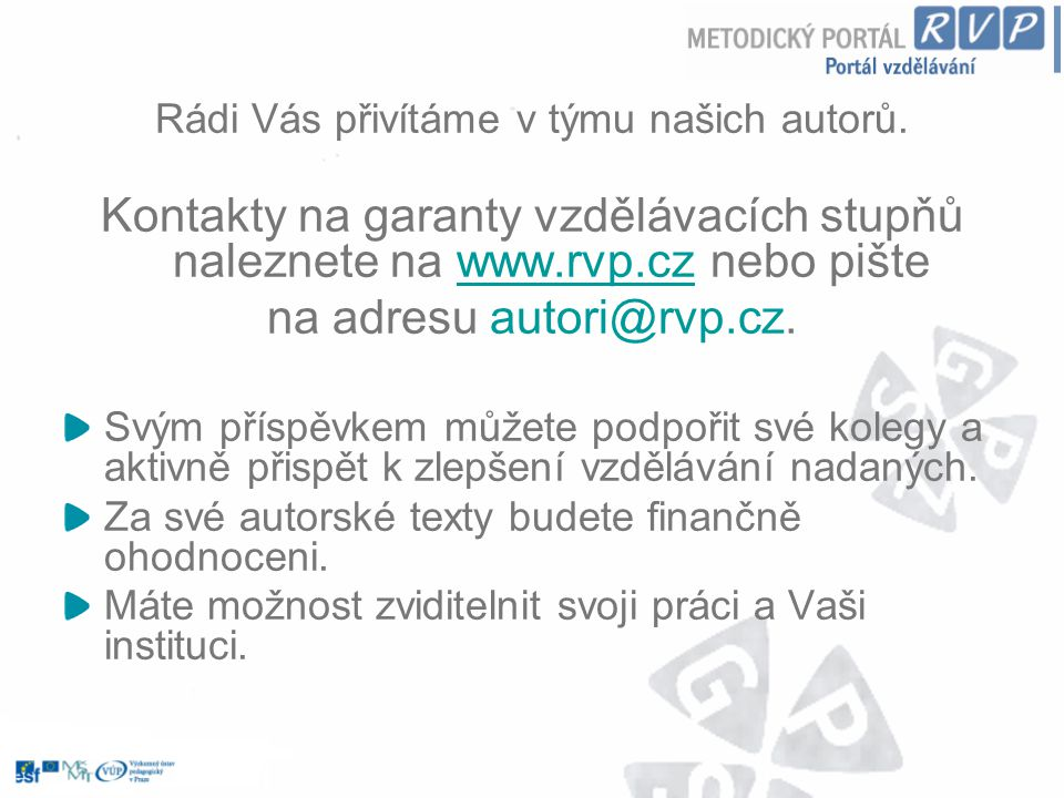 na adresu autori@rvp.cz.