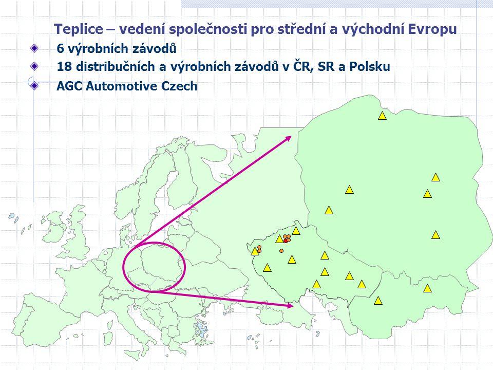 Teplice – vedení společnosti pro střední a východní Evropu
