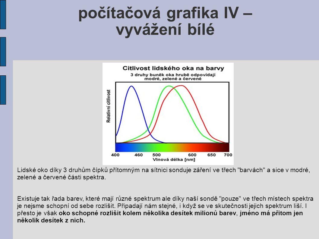 počítačová grafika IV –