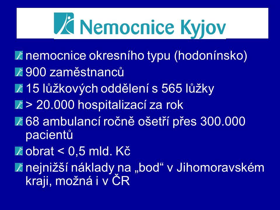nemocnice okresního typu (hodonínsko)