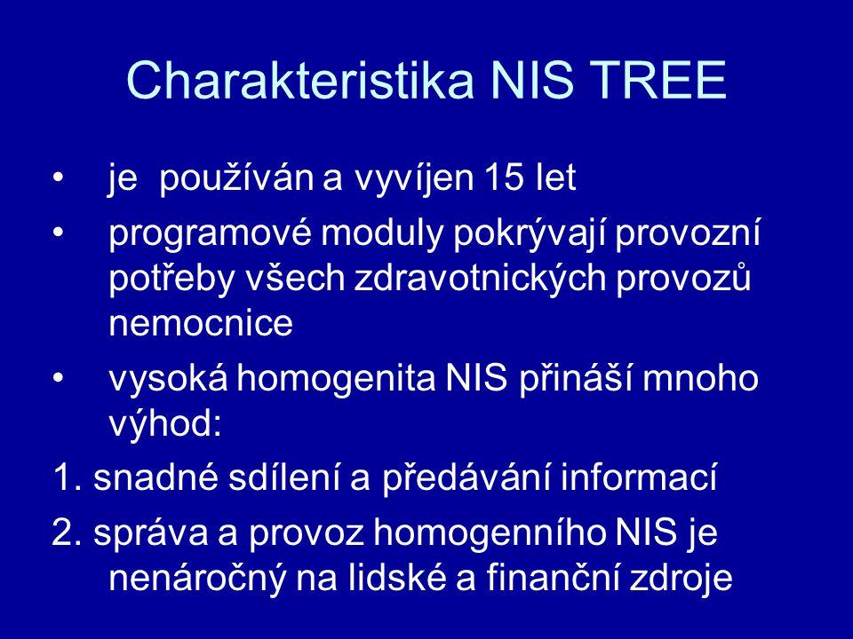 Charakteristika NIS TREE