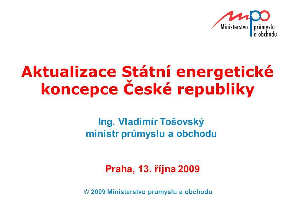 Aktualizace Státní energetické koncepce České republiky