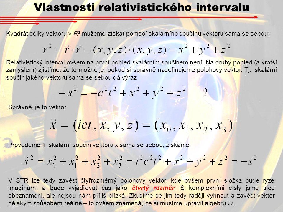 Vlastnosti relativistického intervalu
