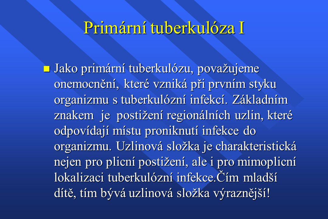 Primární tuberkulóza I