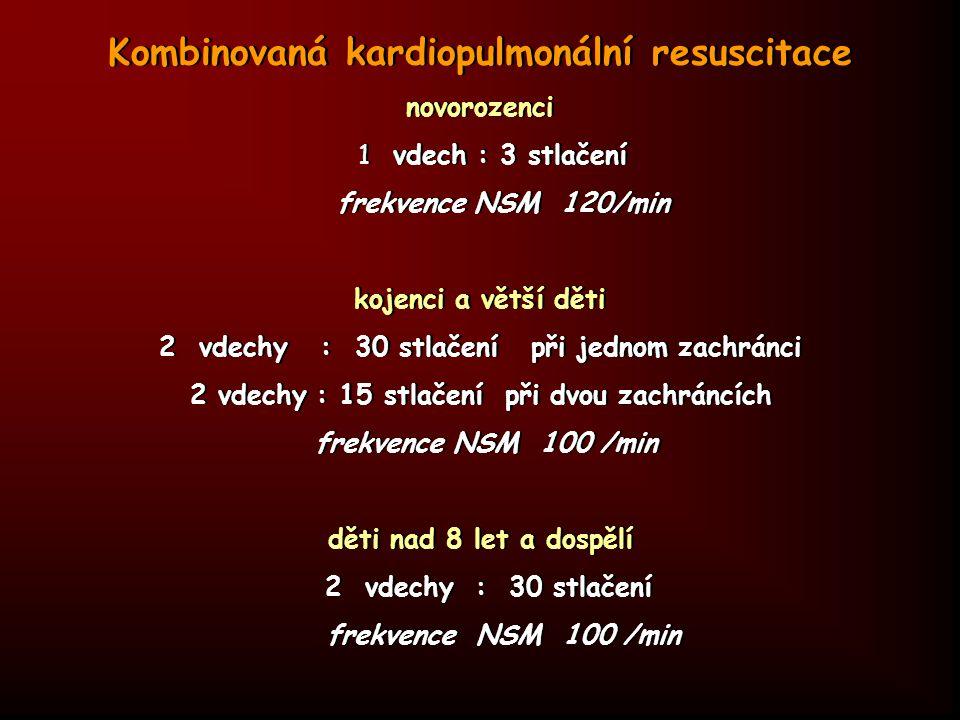 Kombinovaná kardiopulmonální resuscitace