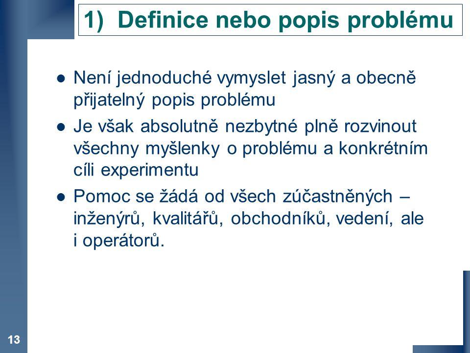 Definice nebo popis problému